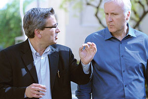 James Cameron and Ares Rosakis